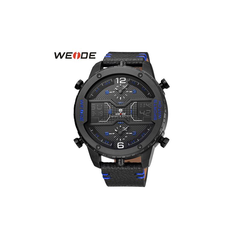Pánské masivní hodinky Weide Luxury - Modré ... f2a8dc9d69