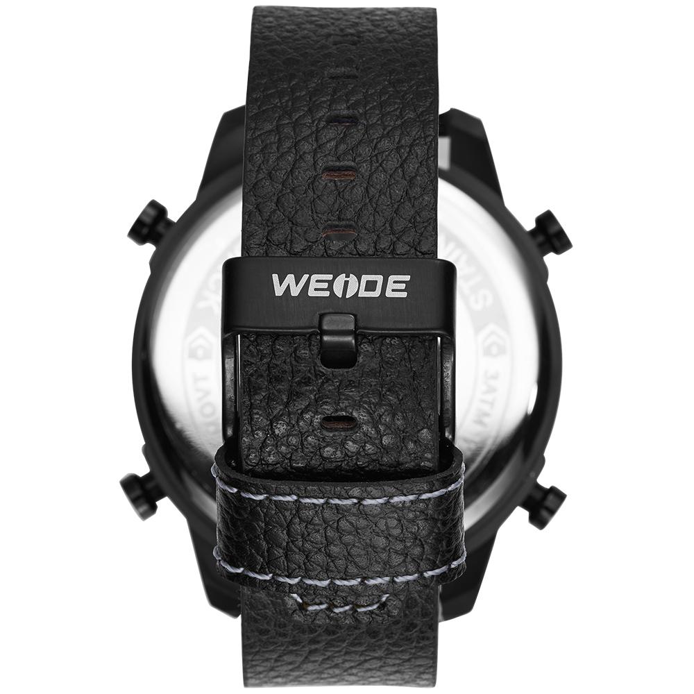 ... Pánské masivní hodinky Weide Luxury - Šedé ... db5f6853ce