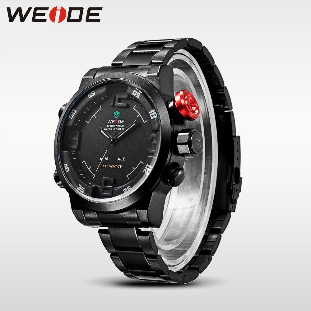 ... Pánské hodinky Weide Hard - Černo-bílé ... f4924b20a5f