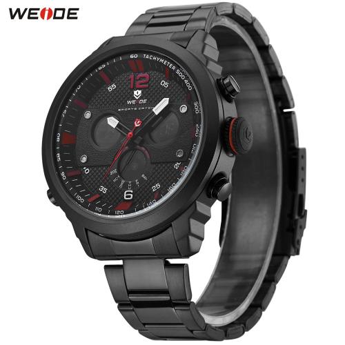 Pánské hodinky Weide WH6303 - Červené ... 61c76485979