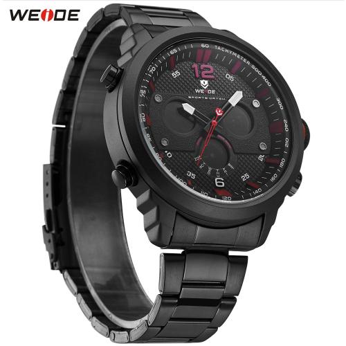 Pánské hodinky Weide WH6303 - Červené Pánské hodinky Weide WH6303 - Červené  ... a7e09a3b9f7