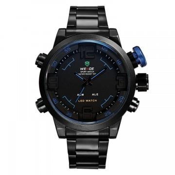Pánské hodinky Weide Hard - Černo-modré 0d364e1df9